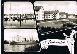 AK Lemwerder/Wesermarsch, 3 Ansichten Mit Rethkampplatz Um 1960 - Allemagne