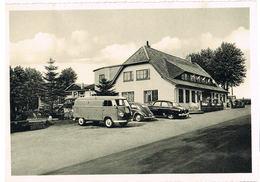 AK Fleestedt, Gaststätte Bostelmann Um 1955 - Mit VW Bus Und Käfer - Seevetal
