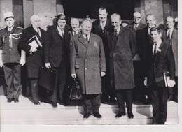 LE HAVRE COLLOQUE INTER SCIENCE ECONOMIQUE, MARCHE COMMUN-EUROPE EST. ALAIN POHER. BETTENCOURT 1969. 18*13 CM - Famous People