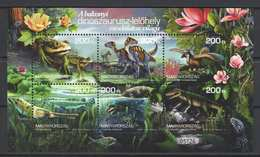 Hungary 2020. Prehistoric Animals / Flowers / Fauna Nice Sheet MNH (**) - Stamps