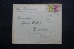 INDE - Enveloppe Commerciale De Bombay Pour La France En 1905, Affranchissement Plaisant - L 54646 - 1902-11 King Edward VII