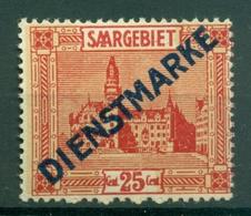 Sarre 1922-24 - Michel N. 6 I - Timbres-poste De 1922-23 Surchargés - Unused Stamps