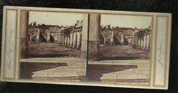Carte Stereo.pompei Cortile Dei  Bagni  Nuovi - Pompei