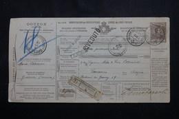 ITALIE - Bulletin De Colis Postal De Grosseto Pour La Suisse En 1913 - L 54665 - Paketmarken