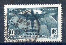 France N°321 - Conquète Aérienne De L'Atlantique - Oblitéré - Cote 150€ - (F903) - France