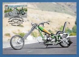 "Kirgisistan 2019 , Motorräder - "" Chopper "" - Maximum Card (54) - Kyrgyz Express Post 16.10.2019 - Kirgisistan"