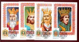 """Moldova 1995. Maxi Cards """"Rulers Of Moldova' Full Set Of 6 Cards Quality:100% - Moldavia"""