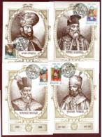 "Moldova 1997 ""Moldova 1997. Maxi Cards ""Rulers Of Moldova"" Full Set Of 7 Cards Quality:100% - Moldavia"