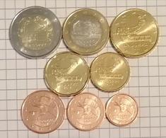 Andorre Andorra (8 Pièces) - 2 Euro 2018, 1 Euro 2016, 50 Cent- 20 Cent- 10 Cent- 5 Cent- 2 Cent- 1 Cent 2017 - Andorra