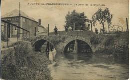 CPA 59 AULNOY LES VALENCIENNES Le Pont De La Rhonelle Rare - Aulnoye