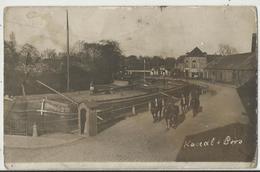 59 - LOOS Lez LILLE - Carte Photo Allemande - Canal - Soldat Allemand - Guerre 1914-1918 Péniches, Navigation Intérieure - Loos Les Lille