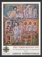 Vaticano 1997 BF Pro Terremotati (Sass.BF25) **/MNH - Blocs & Feuillets