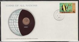 0163 - Numiscover / Enveloppe Numismatique - KIRIBATI - 1 Cent 1979 - Kiribati