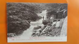 Environs D'auzas Et Vicdessos - Prise Du Canal De L'usine D'auzat , En Dessous D'izourt - Other Municipalities