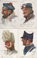 Illustrateur Emile Dupuis Beau LOT De 10 Cartes - Dupuis, Emile