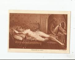 NU 899 CIRCASSIENNE AU HAREM DE F A CLEMENT - Tableaux
