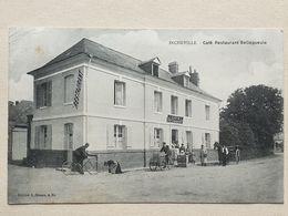 CPA - 76 - INCHEVILLE - Café - Restaurant BELLEGUEULE - Autres Communes