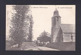 St Saint Pellerin (Manche 50) ( Eglise, Cimetiere Imprimerie Du Messager Ref 40782) - Autres Communes