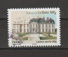 """FRANCE / 2013 / Y&T N° AA 869 : """"Patrimoine"""" (Château De La Motte à Tilly) - Choisi - Cachet Rond - Luchtpost"""