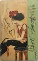 V 72021 -  Illustrazione Molto Rara Firmata Da Raphael Kirchener - Kirchner, Raphael