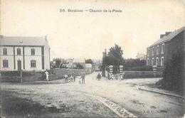 BURDINNE - N°26. - Chemin De La Poste - Circulé: 1908  - Etat: Voir 2 Scans. - Seraing