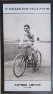 Arthur Vincent LINTON Né à Seavington St Michael - Champion Cycliste Anglais - 2ème Collection Photo Felix POTIN 1908 - Albums & Collections
