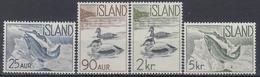 +Iceland 1959. Domestic Fauna. Michel 335-38. MNH(**). - 1944-... Republic