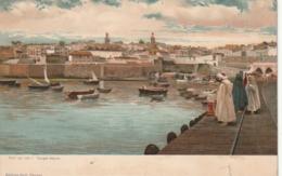 *** AFRIQUE DU NORD  ***  MAROC TANGER  Port De Mer  - Excellent état Neuve/unused - Tanger