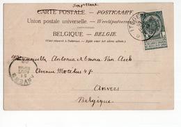 Itegem 1902 - Marcophilie