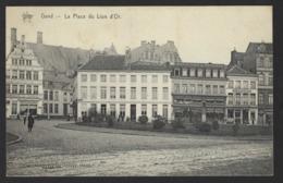 GENT * GAND * LA PLACE DU LION D OR * GOUDENLEEUWPLEIN * STAR * HELIOTYPIE DE GRAEVE N° 116 * 1911 - Gent