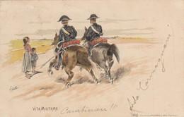 Illustratori - Illustrateur - Fattori  - Vita Militare  - Molto Bella Carabinieri - Illustratori & Fotografie