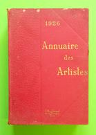 1926 Annuaire Des Artistes Couverture Carton 1477 Pages éditeur Office Général De La Musique Paris 2.709 Kg 18.5x27cm - Livres, BD, Revues
