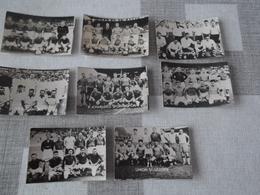 LOT Van 16 FOTO'S !! (4 X 6) Voetbalploegen België - Ere Afdeling 1951 - 1952 - Football