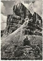 AVERAU COL RIFUGIO OMONIMO - BELLUNO - VIAGG. 1955 -37952- - Belluno