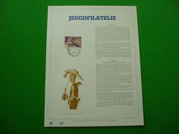 Genummerd Luxe Kunstblad Geslagen In Fijn Goud 23 Karaat *Jeugdfilatelie* - Philabédés (comics)