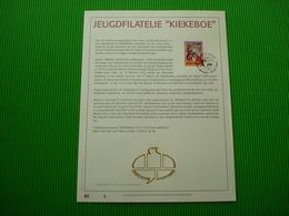 Genummerd Luxe Kunstblad Geslagen In Fijn Goud 23 Karaat *Jeugdfilatelie* - Philabédés