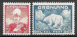Greenland 1946, Complete Set - Ungebraucht