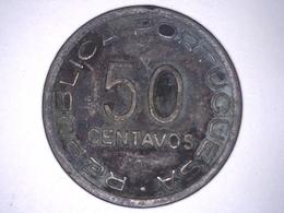 Mozambique 50 Centavos 1945 Mozambico Moçambique - Colonie De Mozambique République Portugaise. - Mozambique
