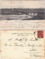 CUNEO - PANORAMA LATO OVEST - VIAGG. 1904 -33699- - Cuneo