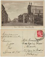 CUNEO - SACRO CUORE - CORSO NIZZA - VIAGG. 1936 -44172- - Cuneo