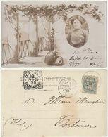 DINTORNI DI NAPOLI? - CAPRI? - VESUVIO - VIAGG. 1903 -40500- - Napoli (Naples)