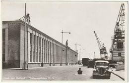 HOEK VAN HOLLAND - OLANDA - STATIONSGEBOUW N.S. - VIAGG. 1955 -36555- - Mondo
