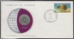 0178 - Numiscover / Enveloppe Numismatique - PHILIPPINES - 1 Peso 1979 - Philippines
