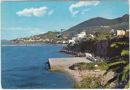 ISCHIA - NAPOLI - LACCO AMENO - ELIPORTO - ELICOTTERO - VIAGG. 1976 -35927- - Napoli (Naples)