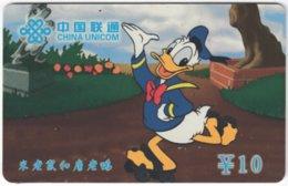 CHINA D-243 Prepaid ChinaUnicom - Walt Disney, Duck Family - Used - Chine