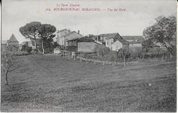 BOURGNOUNAC MIRANDOL (Le Tarn Illustré )  : Vue Du NORD (1919 ) - Andere Gemeenten