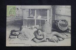 GUYANE - Carte Postale - Cayenne - Deux Heureux - Sommeil De Mandé Et De Son Fils Atoko - L 54684 - Cayenne
