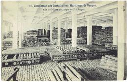10. Compagnie Des Installations Maritimes De Bruges - Vue Intérieure Du Hangar N°2 à Bruges - Brugge