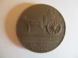 Belgique: Médaille Exposition Universelle Internationale Bruxelles 1935 - Les Flandres - Belgique