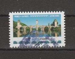 """FRANCE / 2017 / Y&T N° AA 1472 : """"Ponts & Viaducs"""" (Pont Valentré) - Choisi - Cachet Rond - Adhesive Stamps"""